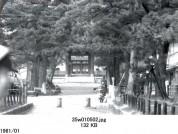 0001_0038 法隆寺南大門前
